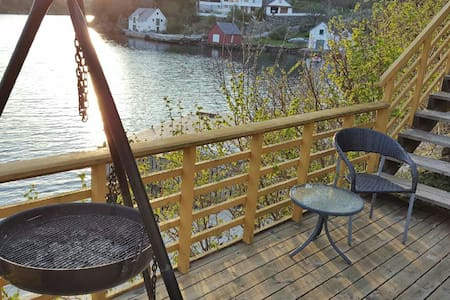 Apartm with fishingboat and jacuzzi - Karmøy - Apartamento