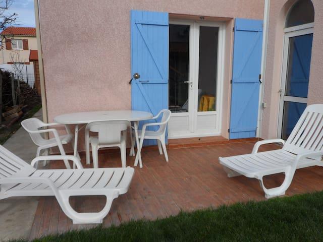 Studio avec mezzanine - Villelongue-de-la-Salanque - Wohnung