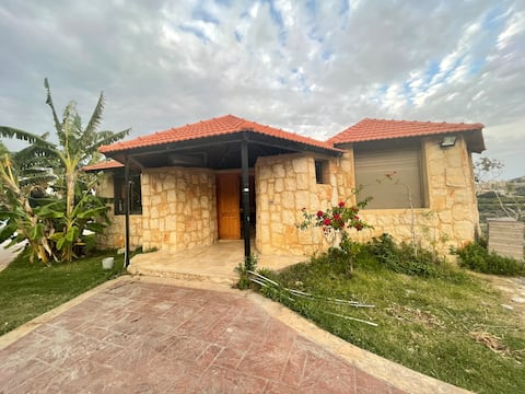 5 Guests Private Suite Chalet - Sky Resort Saida