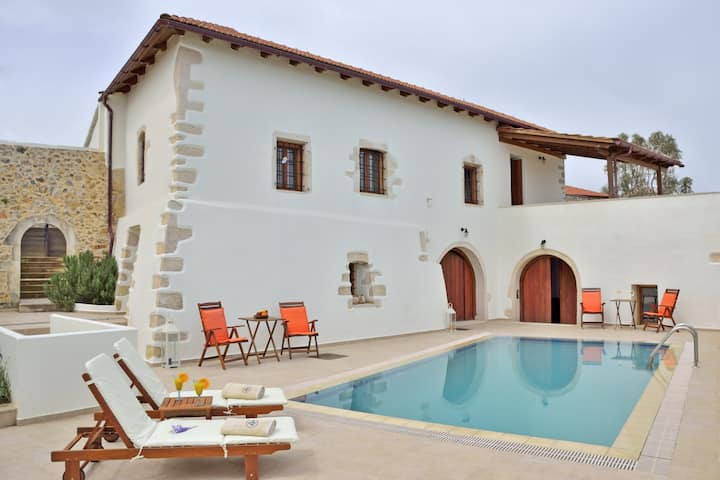 Private Pool,Next to All Amenities,Kefalas