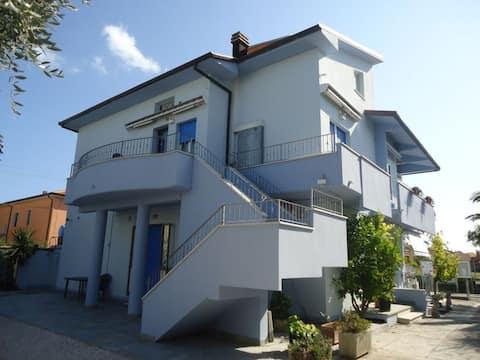 Apartment in Marotta near the beach