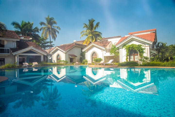 The Cozy Nook (3-BHK) - Riviera Residency, Arpora