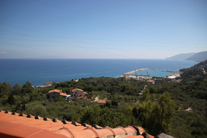 PRIVATE LOFT with panoramic view - San Gregorio-bagnoli - Podkroví