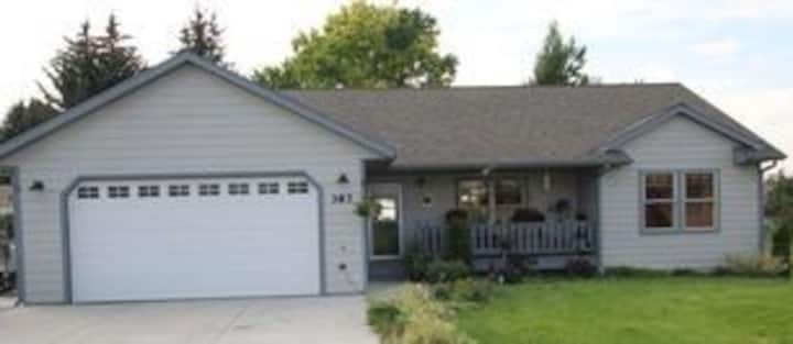 Huge home that is private yet centurally located.