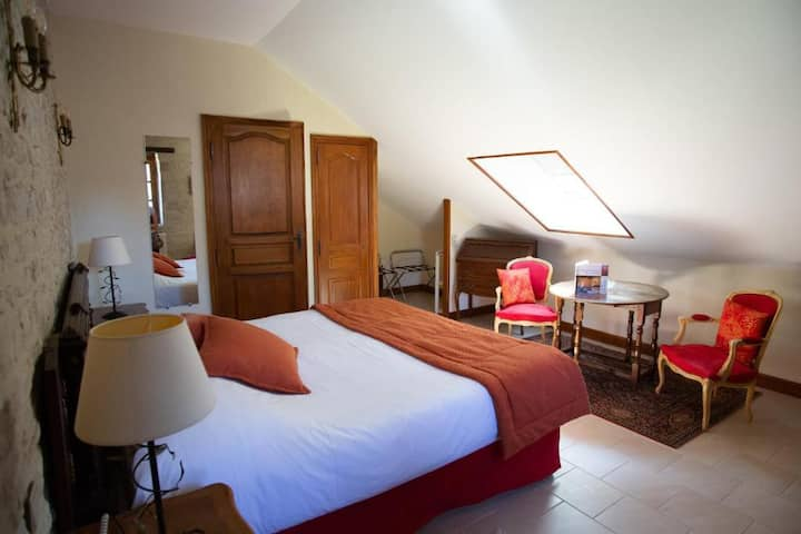 Manoir de Mathan Chambre Traditionnelle