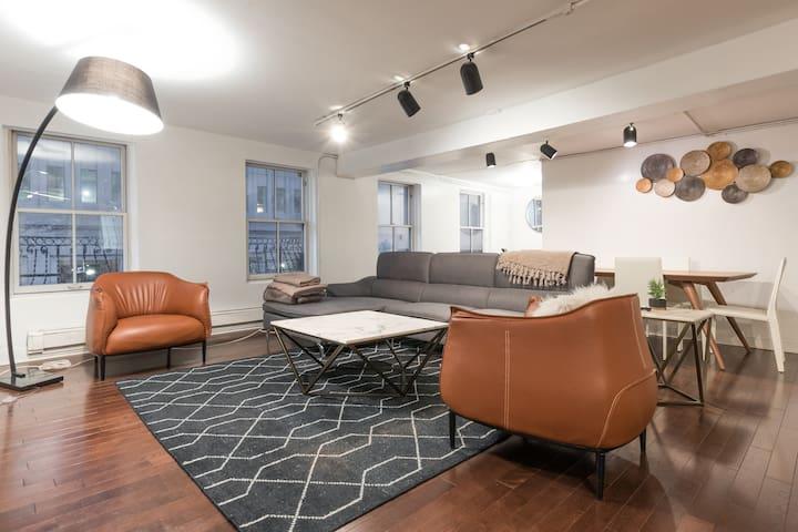 Amazing, Spacious Apartment in Historic Fi-Di