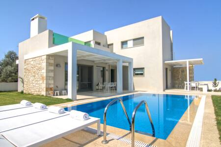Eco villa with garden and pool - Gonia - Casa de camp