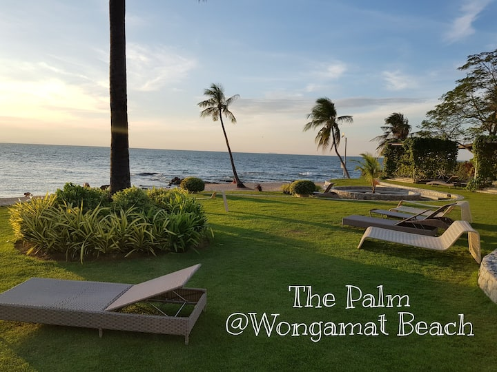 Wongamat Beach Front Condominium by The Palm