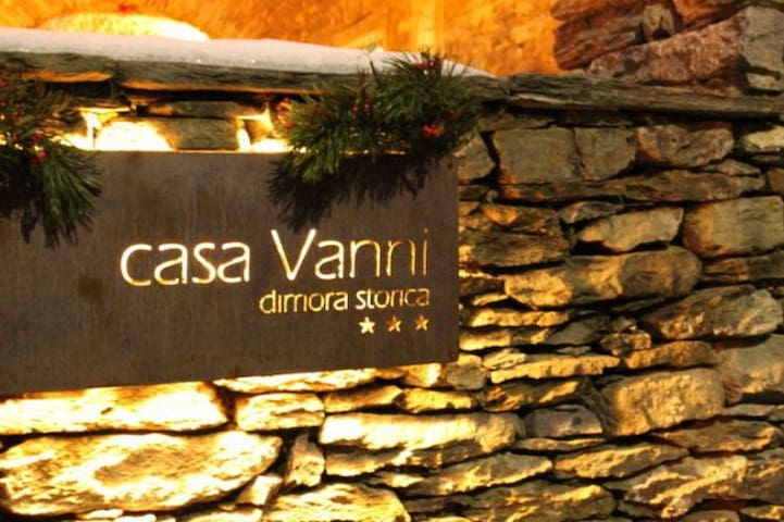 Historic building -CASA VANNI -Double room