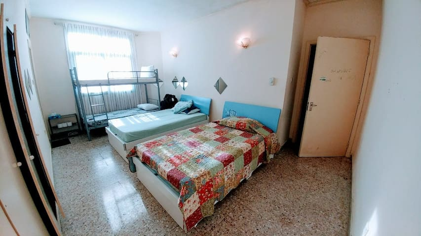 Room for Family or Group near the Bus Terminal