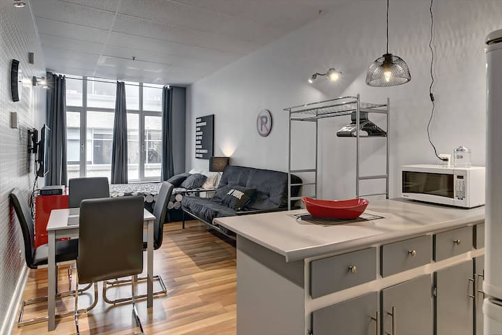 Welcome ! Suite 201 in the heart of Quebec city ! - Ville de Québec - Loft