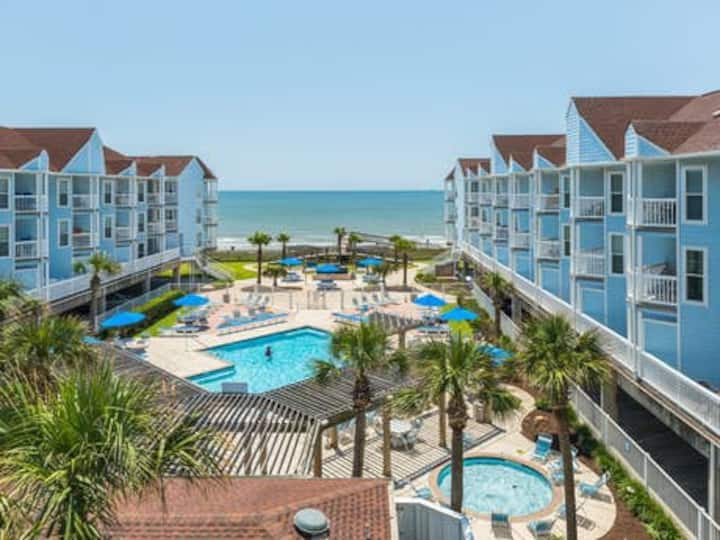 Beachside Condo- In Unit Wash/Dryer - HEATED POOL