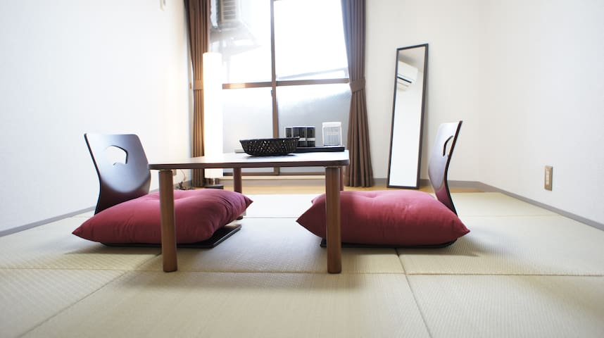 01: Cozy Apt near Nijo Castle KYOTO - Kyōto-shi - Apartment