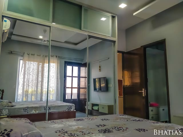Bhatia's: 2 BHK with Private Terrace, Airport Road