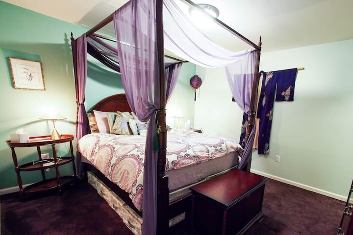 ★ COMFY SUITE ★ Garden | Eclectic Hosts | near I95