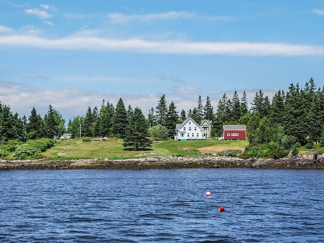 Arey Cove Farmhouse - Vinalhaven - Casa