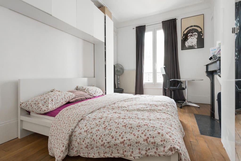 Bedroom 1 - Bed 160cm * 200cm