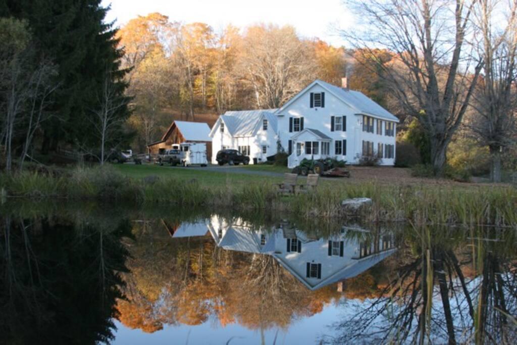 Refurbished 1820 farmhouse