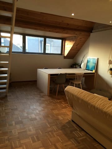 Duplex apartment on 4th floor - Gent - Leilighet