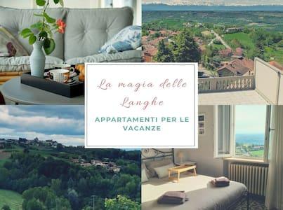 La Magia delle Langhe app with terrace and veranda