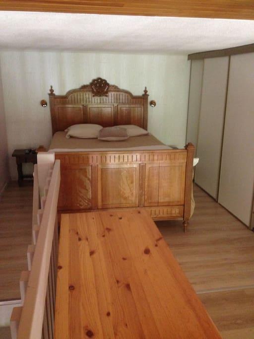 Chambre sur mazzanine