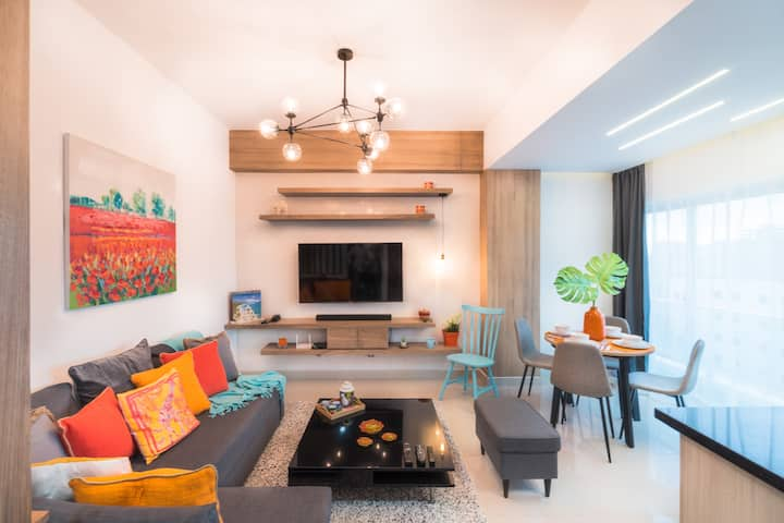 Tropical Rooftop Apartment |Downtown Santo Domingo