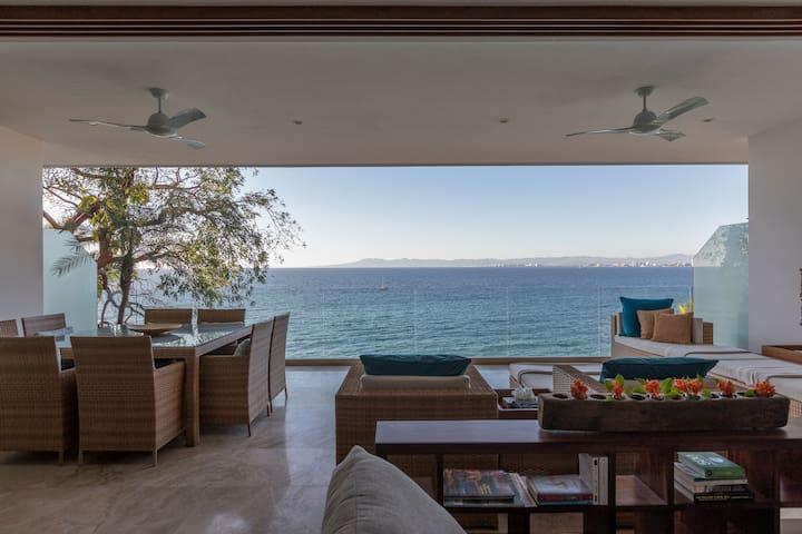 New condo 2 BR/ 2 BA, Oceanfront !! - Puerto Vallarta - Apartment
