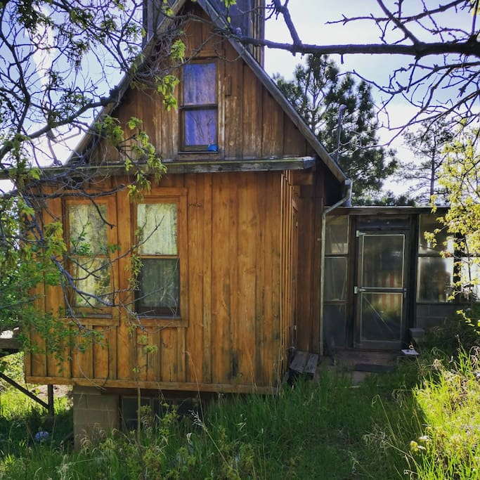 Cheyenne mtn state park retreat cabins for rent in for Cabin rental colorado springs