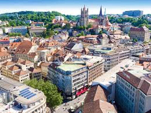 chambre à louer à Lausanne