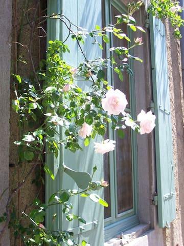 Romantisches Natursteinhaus in Siran /  Languedoc