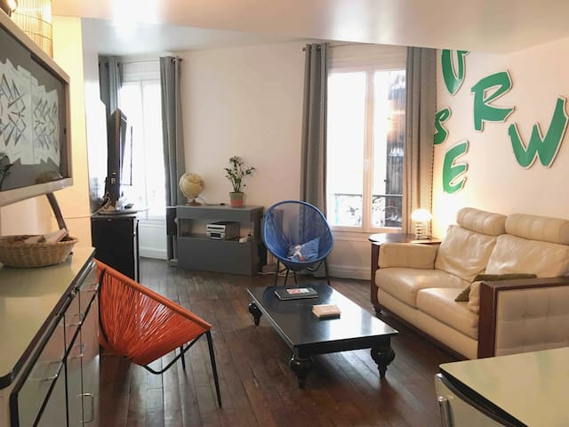 3 bedrooms La Defense comfortable modern Loft