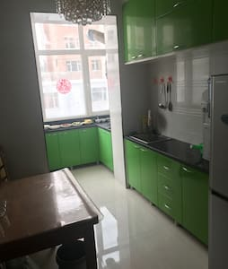 干净卫生,可以携带宠物,独立卫生间,24小时热水 - 白山 - Appartement
