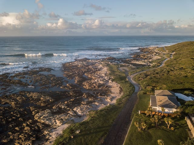 lovely walks & runs  along the coastal track towards Danger Point lighthouse