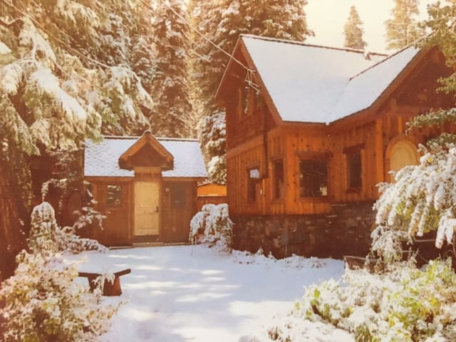 Beautiful cabin getaway for two! - Tahoma - Cottage