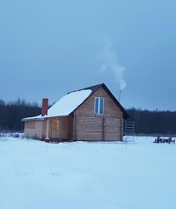 Деревянный домик с сауной и камином - Старый Оскол