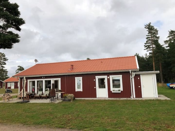 Cottage surrounded by the beauty of Sweden