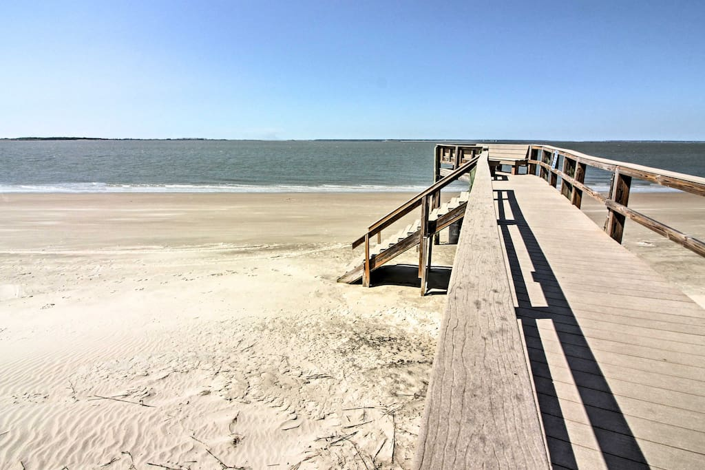 You'll be a short walk from the sandy shores for endless beach fun!