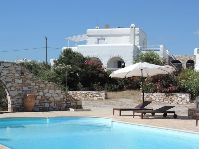 Archipelagos villas-Villa Paros for 8-12 with pool