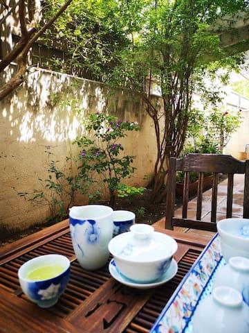喝茶聊天的好地方!