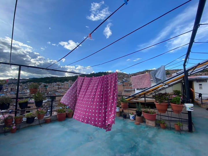 PriVate apartment Cusco - amazing view - fast wifi