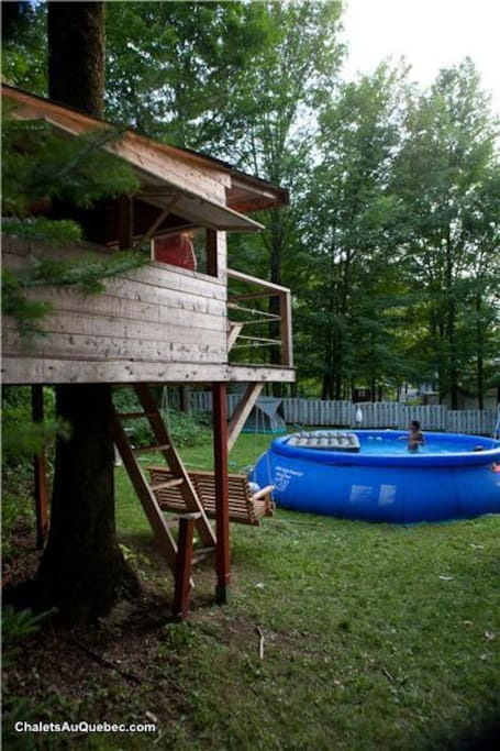 Tree House (the pool is no longer here)