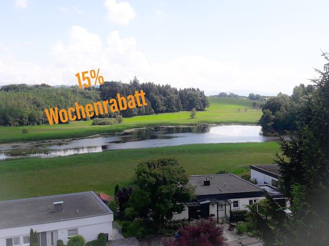 Weiherblick Neuravensburg im Allgäu