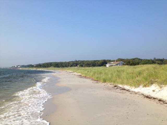 Walk or bike ride to private beach