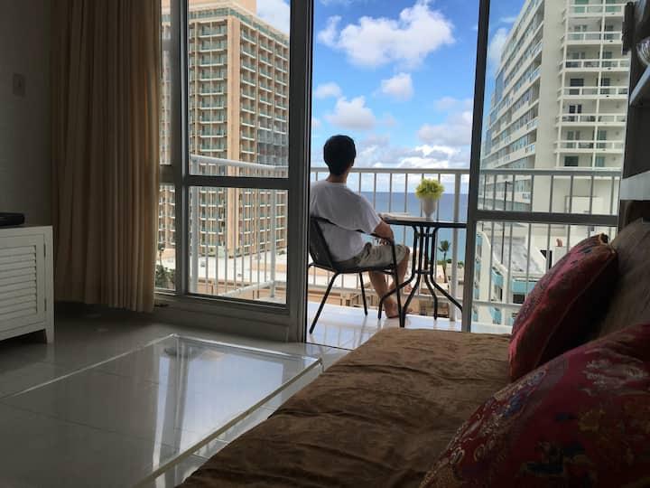 Ocean View Apartment in the Center of Condado