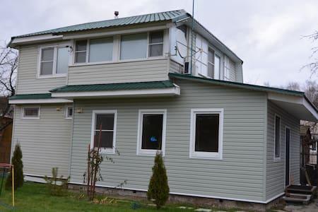 Дом с сауной и закрытой мангальней - Домодедово - Haus