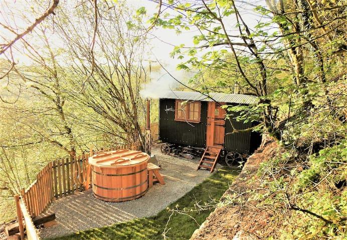 Cosy Winter hut - Eileen's hut - Trefanny Glamping