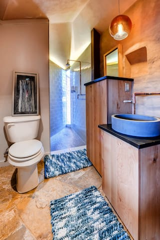 Adobe suite bathroom