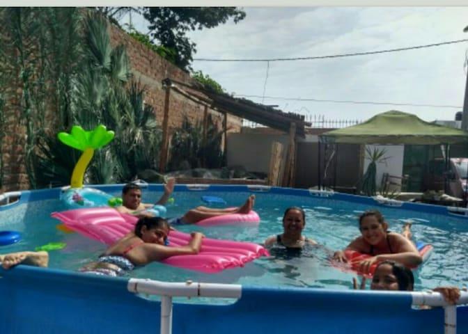 Casa d playa en Los Pulpos, parejas o para familia