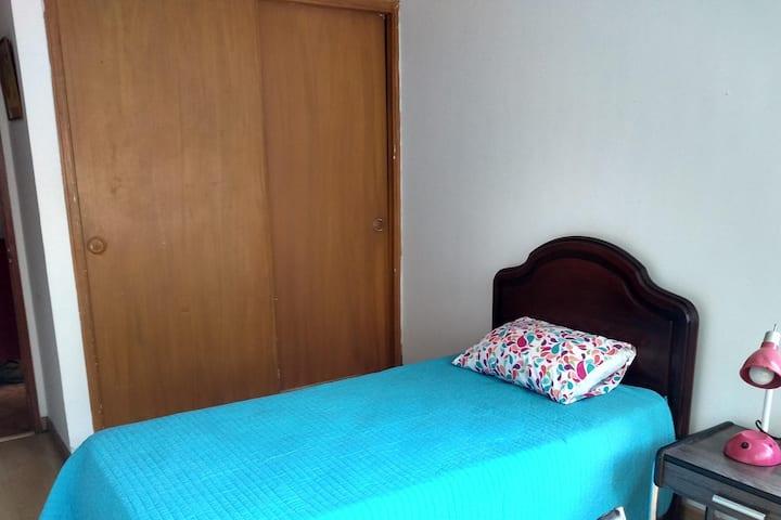 Habitación en el  mejor sitio del centro de Bogotá