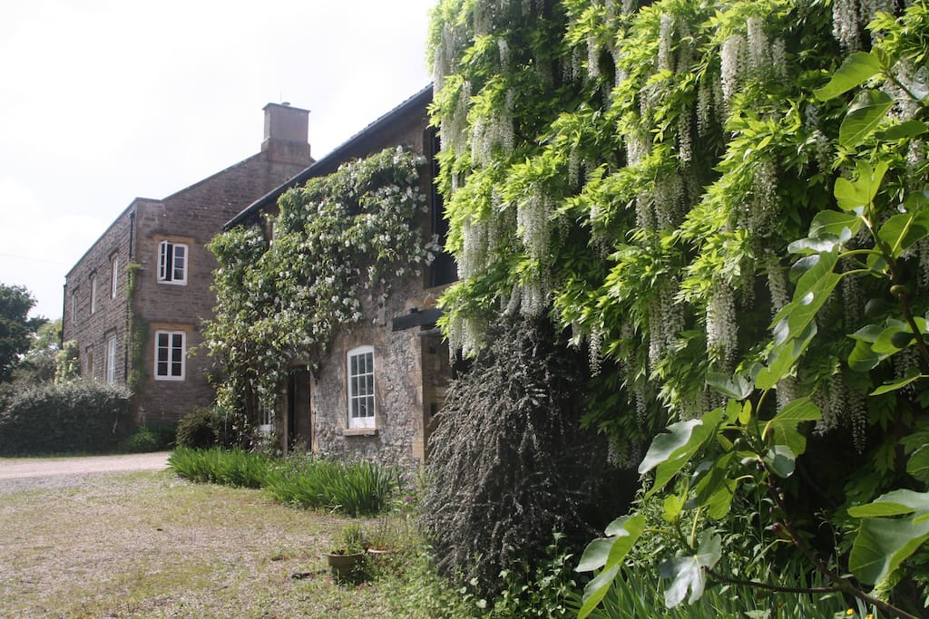 Double room in large old farmhouse set in 15 acres for Roaming inghilterra